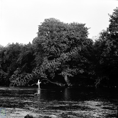 Fishing, River Wharfe, Ilkley